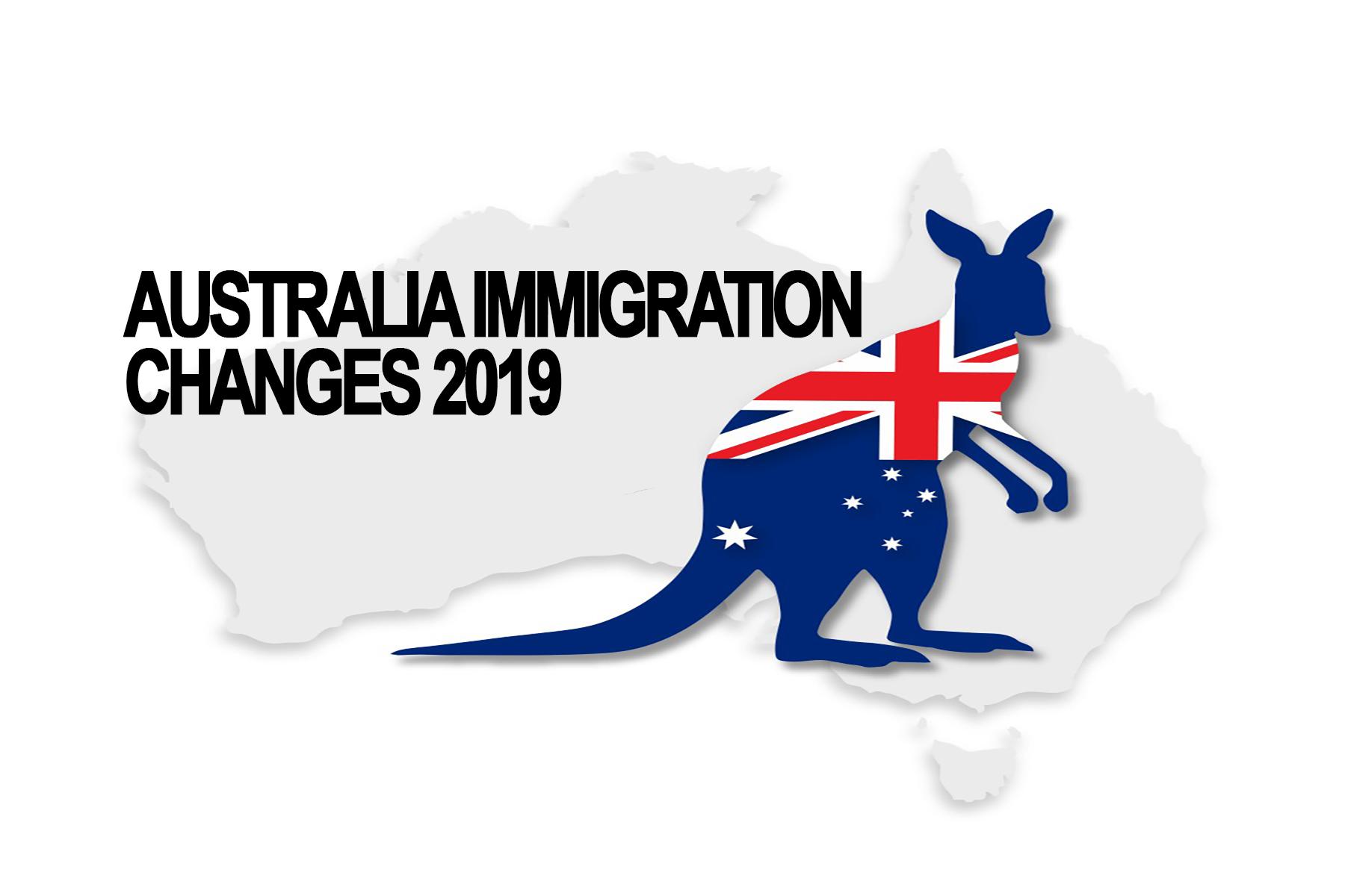 Australian immigration rules changes:2k19