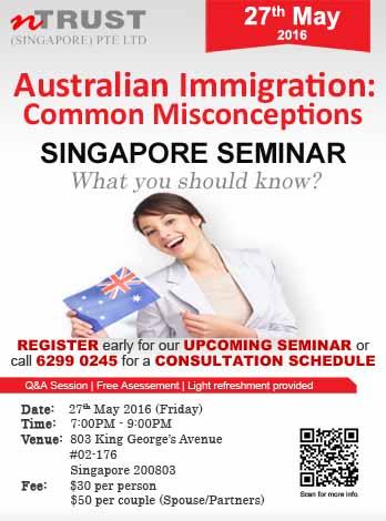 Australia Immigration Singapore Seminar